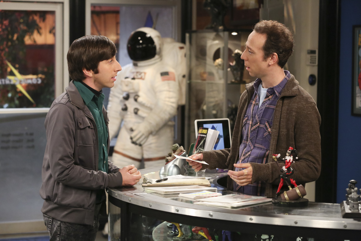 Simon Helberg and Kevin Sussman in The Big Bang Theory (2007)