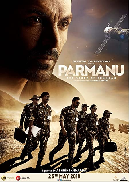 Parmanu: The Story of Pokhran (2018) Hindi Blu-Ray - 480P | 720P - x264 - 350MB | 1GB - Download & Watch Online Movie Poster - mlsbd