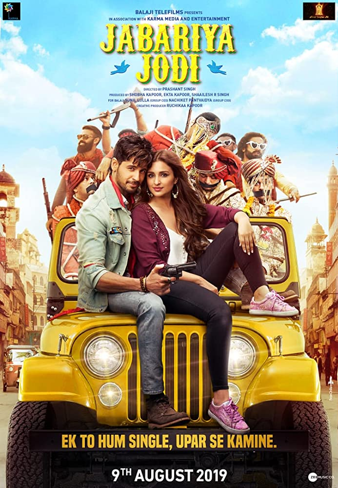 Jabariya Jodi 2019 Hindi Movie Pre-DVDRip 700MB