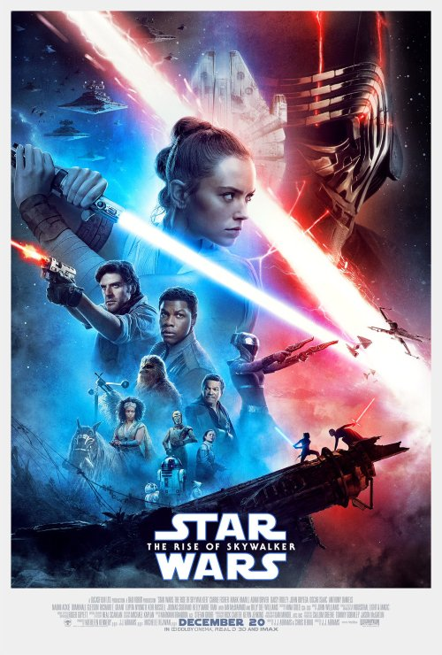 Image result for star wars rise of the skywalker movie poster 2020