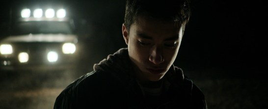 The picture of Elijah Rodriguez in a film