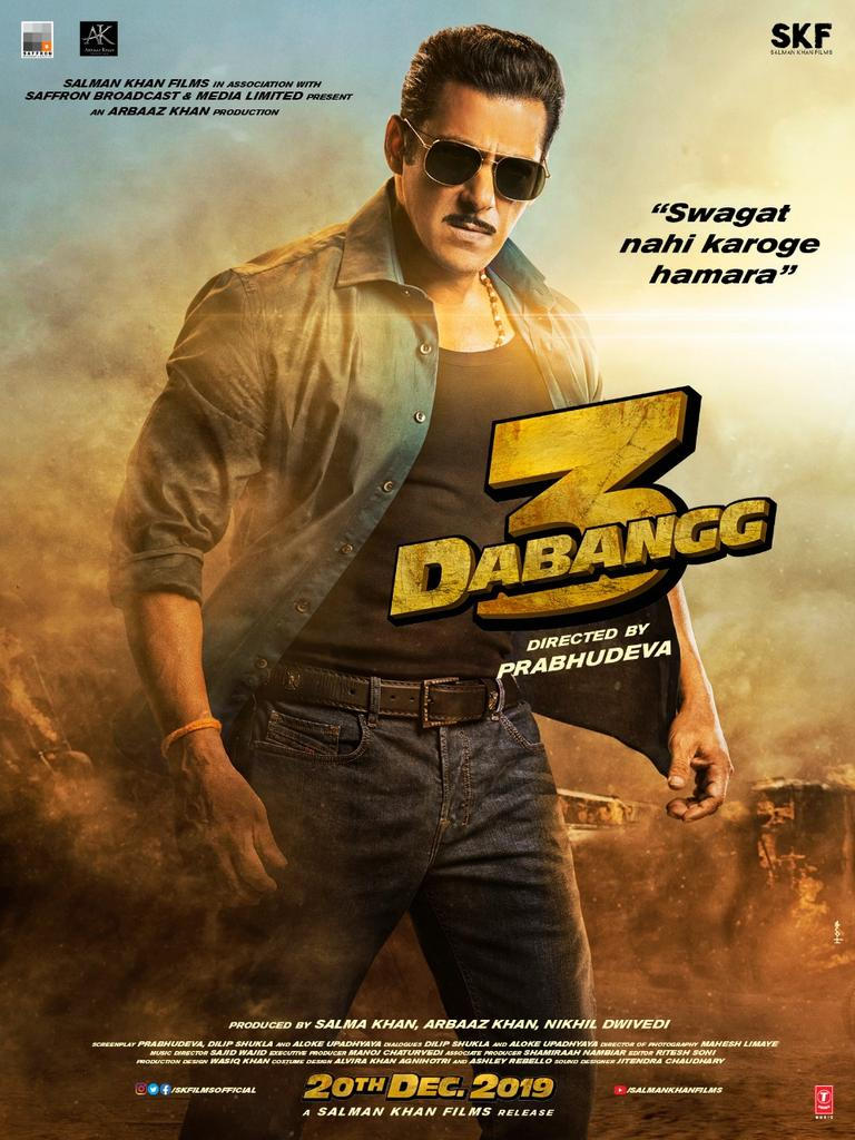 Dabangg 3 (2019) Hindi Amazon WEB-DL - 480P | 720P | 1080P - x264 - 500MB | 1.5GB | 2.7GB - Download & Watch Online Movie Poster - mlsbd