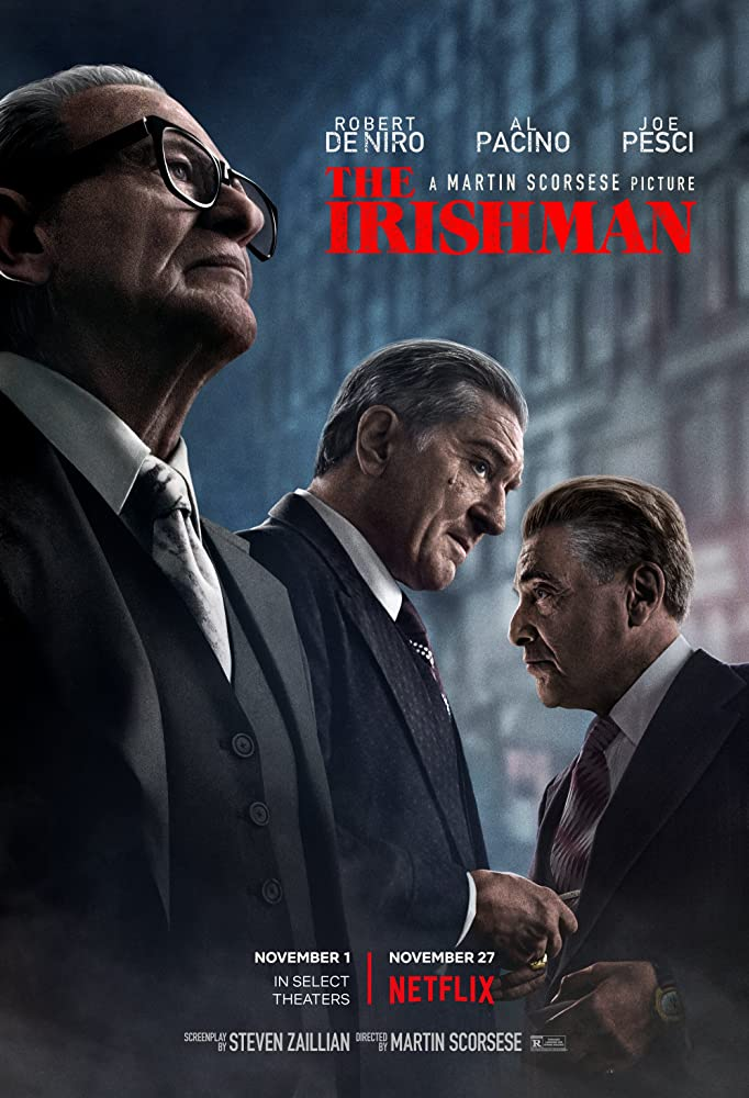 Robert De Niro, Al Pacino, and Joe Pesci in The Irishman (2019)
