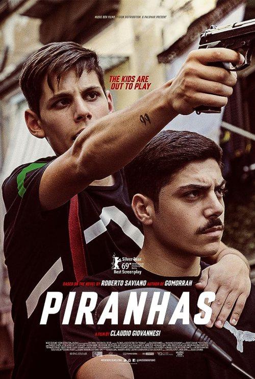 August 2019 Adaptations - Piranhas Movie Poster