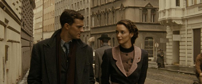 Jamie Dornan and Charlotte Le Bon in Anthropoid (2016)