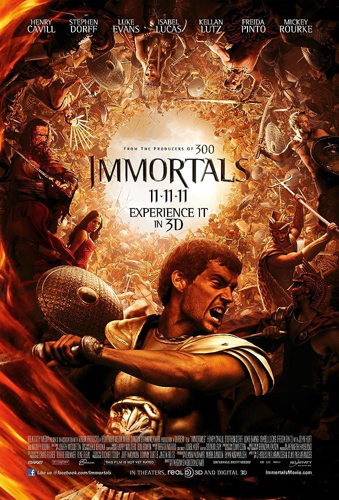 Immortals 2020 Hindi ORG Dual Audio 720p BluRay 700MB Download
