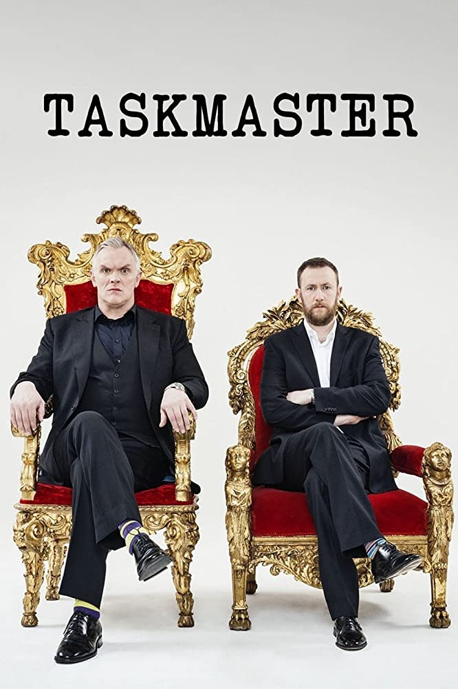 Greg Davies and Alex Horne in Taskmaster (2015)