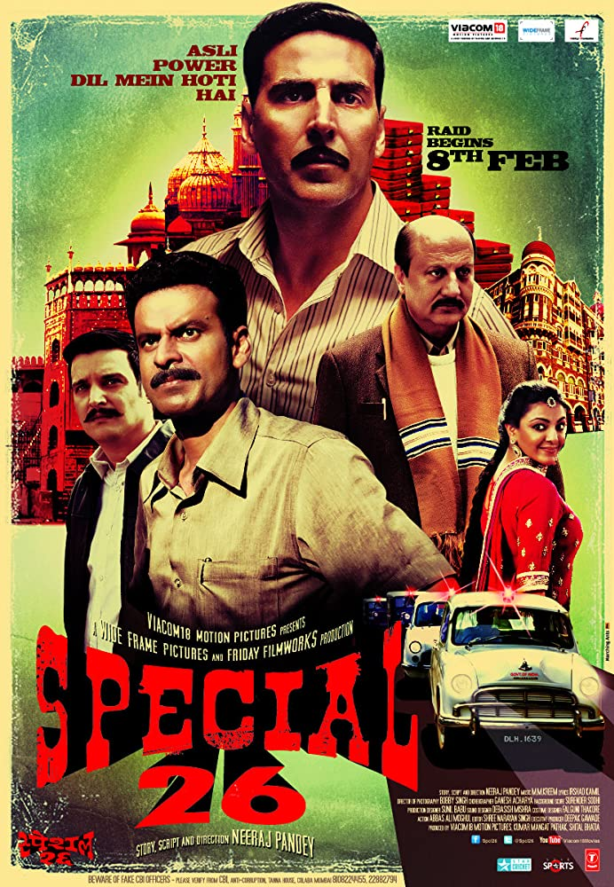 Special 26 – 2013 Hindi Movie BluRay 400mb 480p 1.2GB 720p 4GB 11GB 15GB 1080p