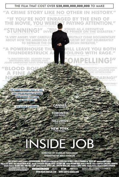 Inside Job Movie at Best Stock Market movies article - Arable Life