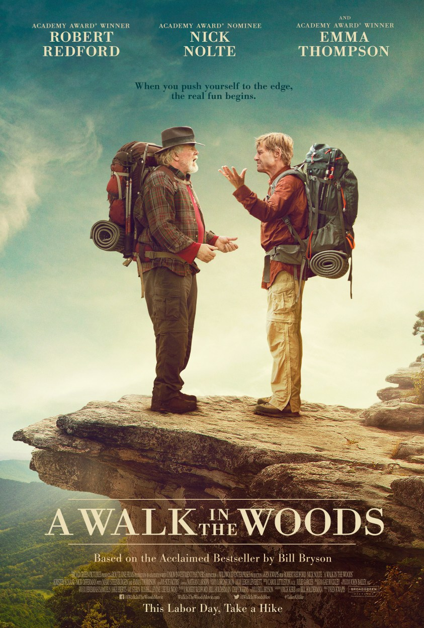 Image result for walk in the woods movie poster
