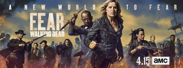 Kim Dickens and Lennie James in Fear the Walking Dead (2015)