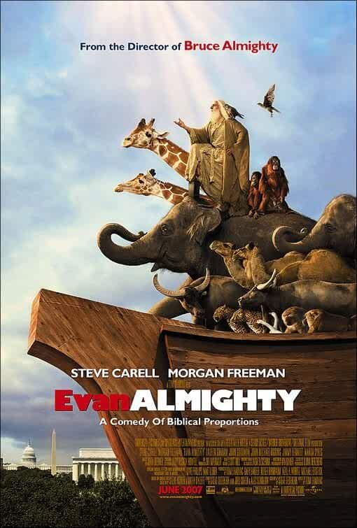 Evan Almighty 2007 Full Movie Dual Audio 720p BluRay Hindi English on Movies365.co extramovies