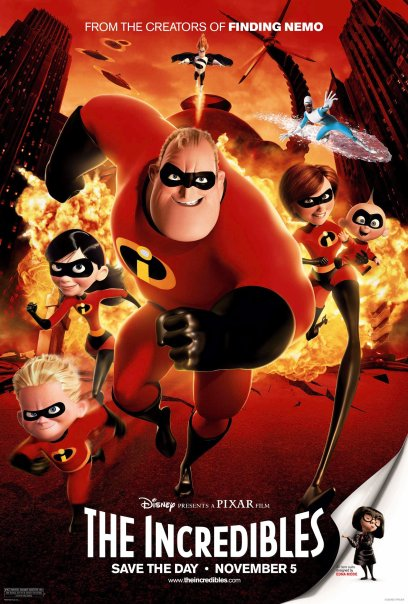 The Incredibles (2004) -