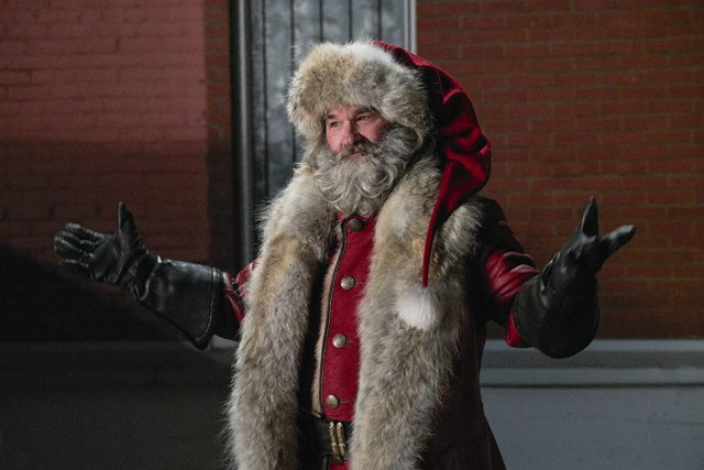 Kurt Russell in The Christmas Chronicles (2018) | NETFLIX, Photo by Michael Gibson