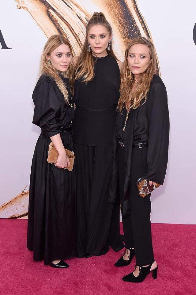 美人姉妹であるオルセン3姉妹