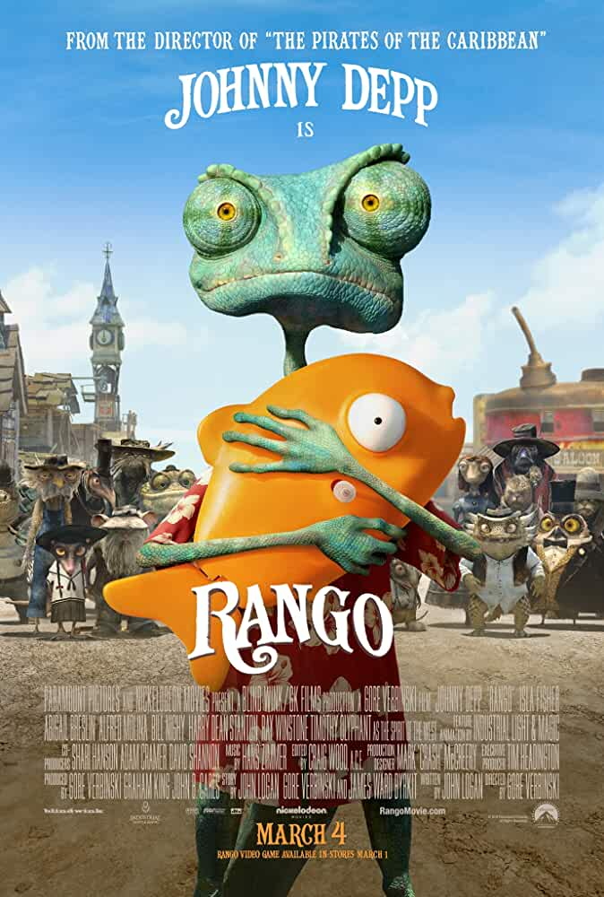 Download Rango (2011) Full Movie 480p [300MB] | 720p [800MB] | 1080p [1.5GB] | Dual Audio {Hindi English}