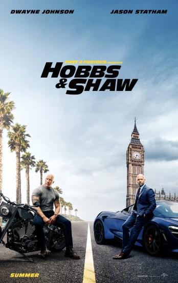 Hasil gambar untuk Fast & Furious Presents: Hobbs & Shaw (2019 poster