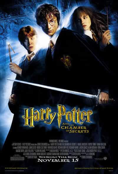 Download Harry Potter and the Chamber of Secrets (2002) Full Movie In Hindi-English (Dual Audio) Bluray 480p [350MB] | 720p [1.5GB] | 1080p [3.8GB]