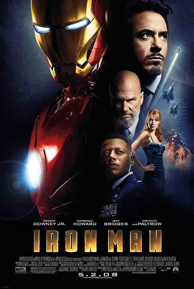 Iron Man (2008) Full Movie Download In Hindi-English-Tamil (Multi Audio) Bluray 480p [375MB] | 720p [983MB] | 1080p [1.7GB]