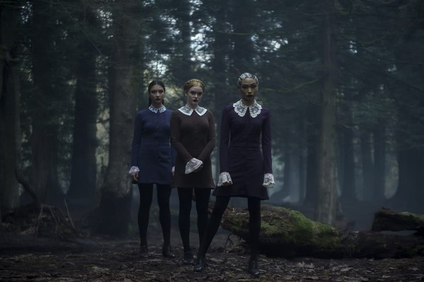 Tati Gabrielle, Abigail F. Cowen, and Adeline Rudolph in Chilling Adventures of Sabrina (2018)