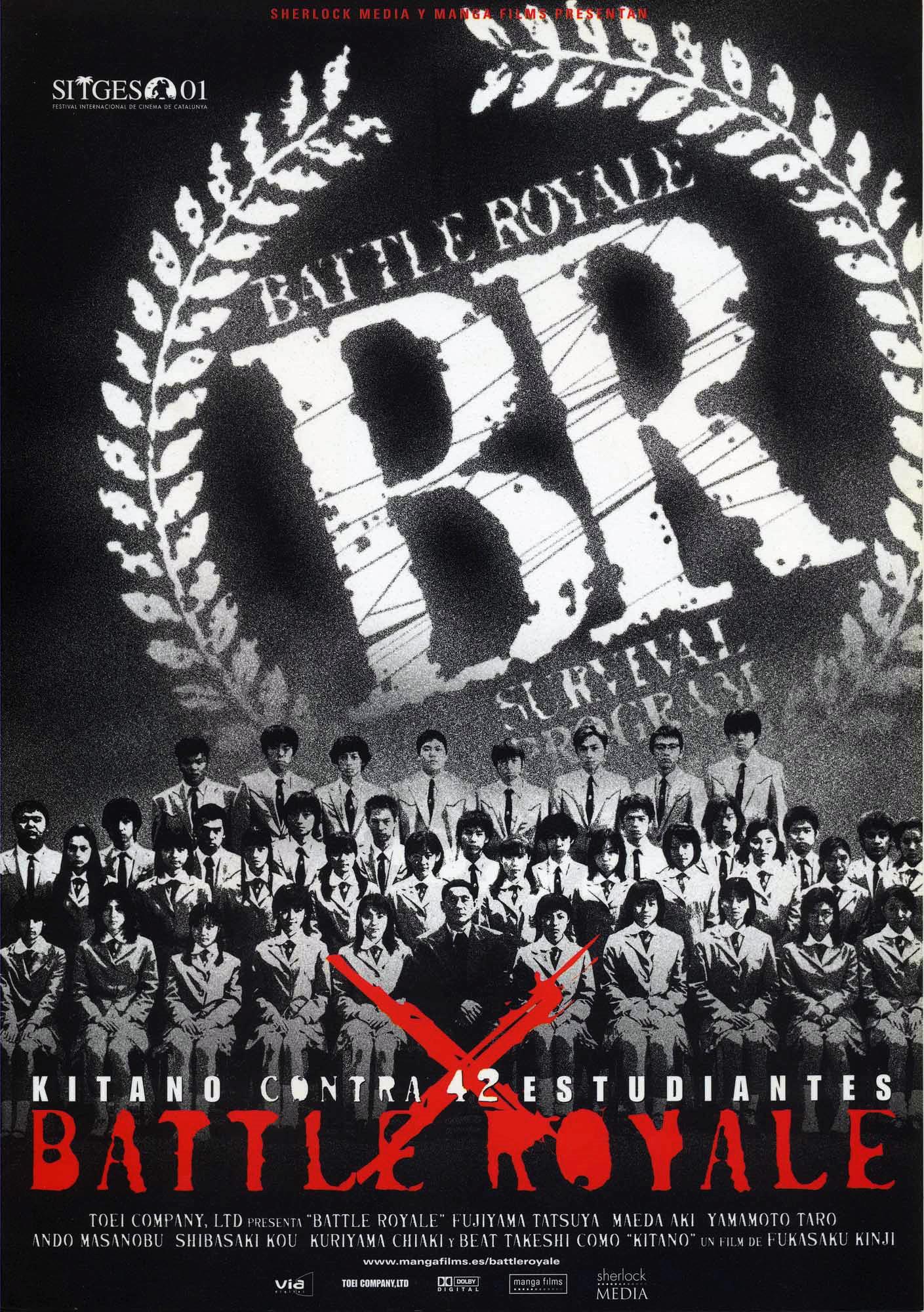 Image result for battle royale poster