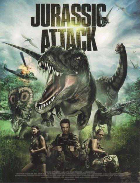 Download Jurassic Attack (2013) Dual Audio Hindi 480p [300MB] || 720p [900MB]