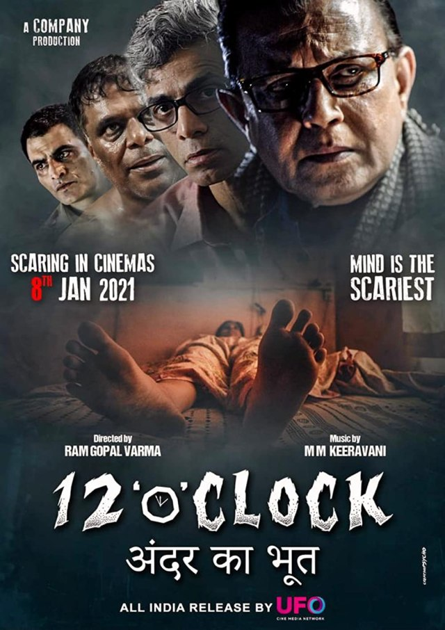 12 O' Clock (2021) Hindi 720p | 480p DVDRip x265 AAC 900MB | 300MB Download