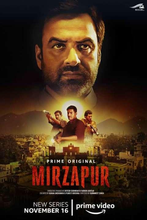 Download Mirzapur [Season 1] Hindi Web Series All Episode 720p WEB-DL | Amazon Prime Video