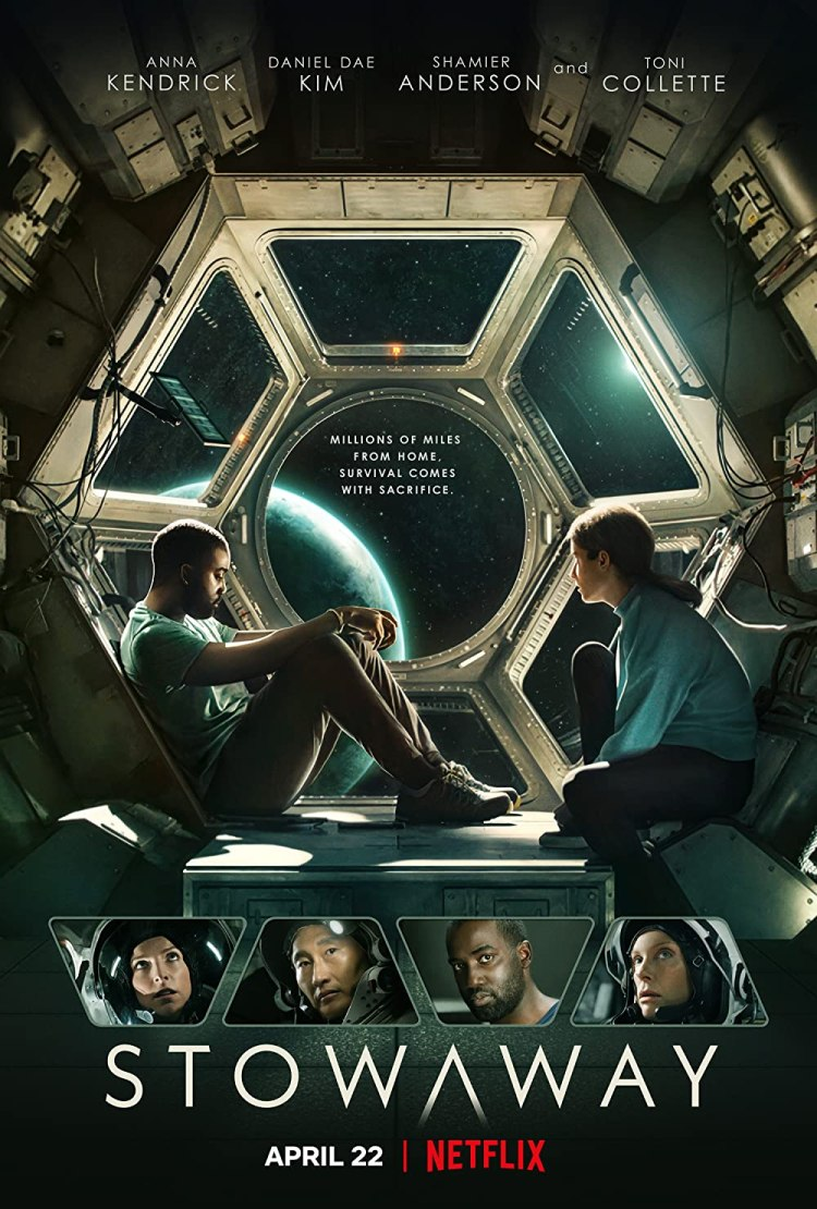 Stowaway 2021 Hindi ORG Dual Audio 720p | 480p NF HDRip MSubs 850MB | 400MB Download