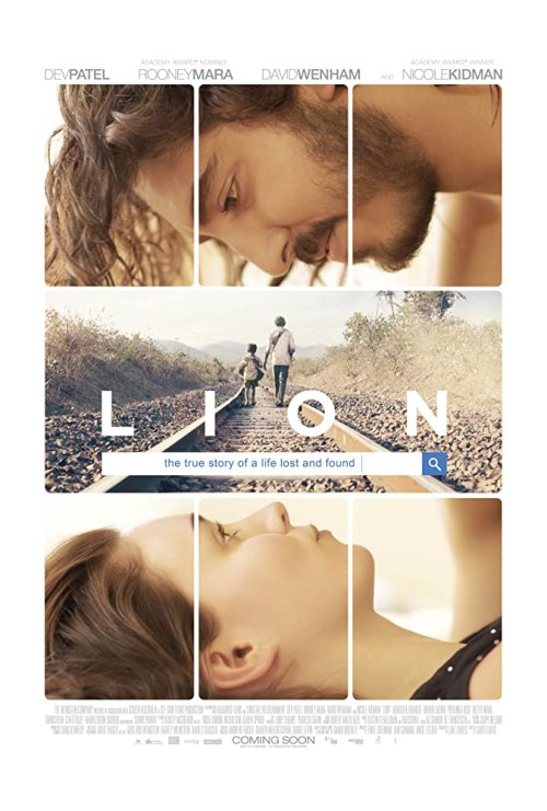 November 2016 Adaptations - Lion Movie Poster