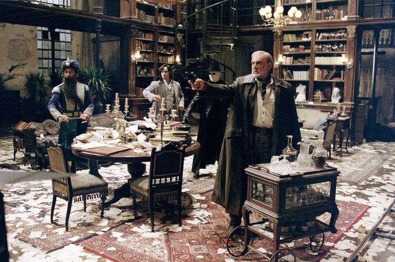 Sean Connery, Naseeruddin Shah, and Stuart Townsend in The League of Extraordinary Gentlemen (2003)