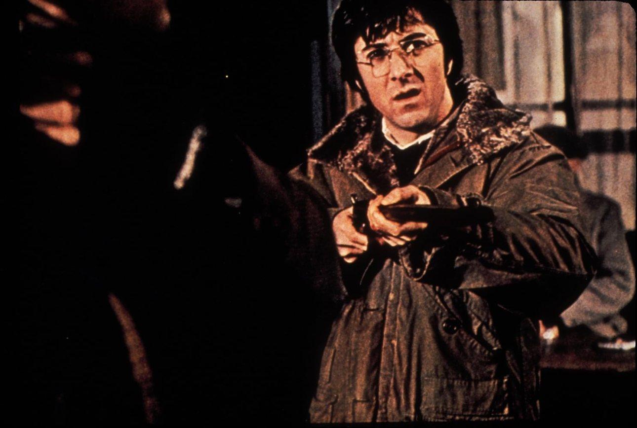 Dustin Hoffman en Straw Dogs (1971).