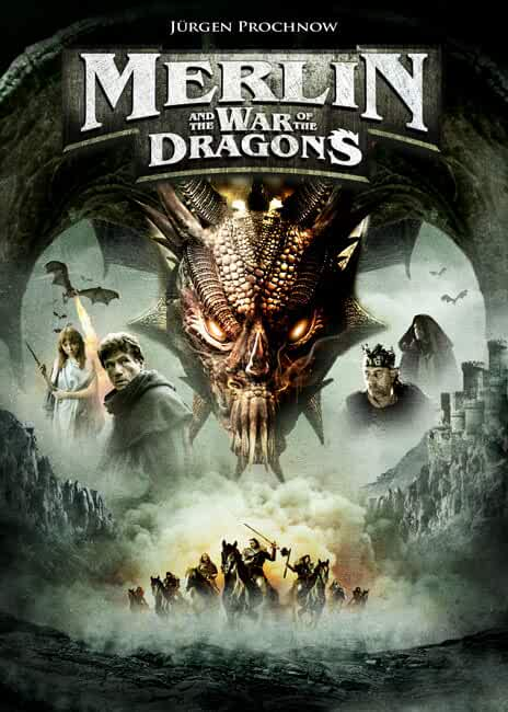 Download Merlin and the War of the Dragons (2008) Dual Audio Hindi 480p [300MB]   720p [550MB]