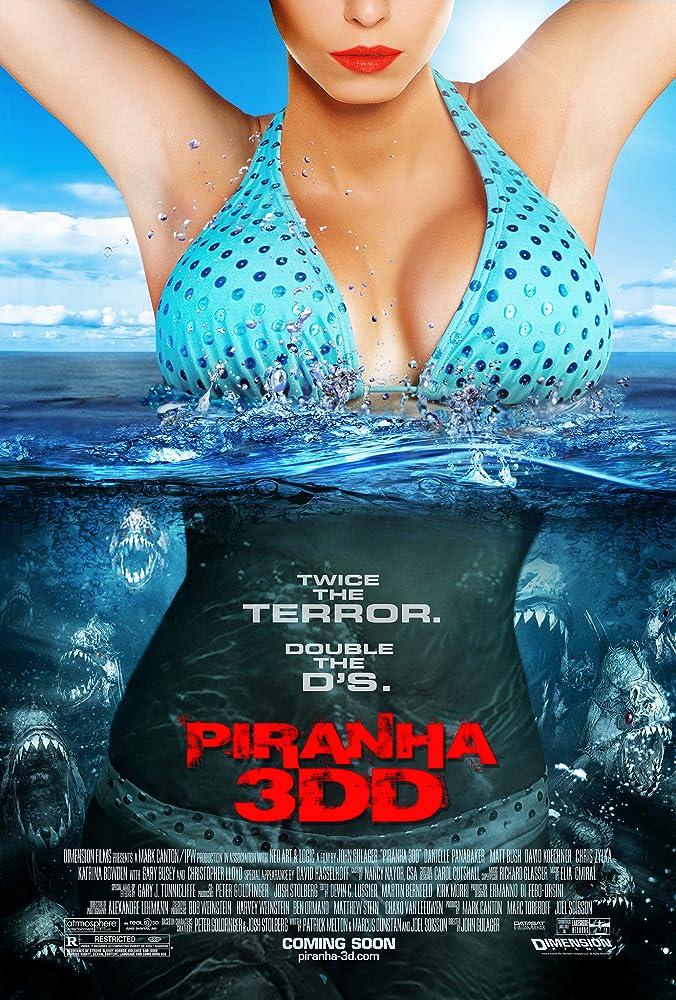 Piranha 3DD 2012 Movie BluRay UNRATED Dual Audio Hindi Eng 250mb 480p 800mb 720p 3GB 6GB 1080p