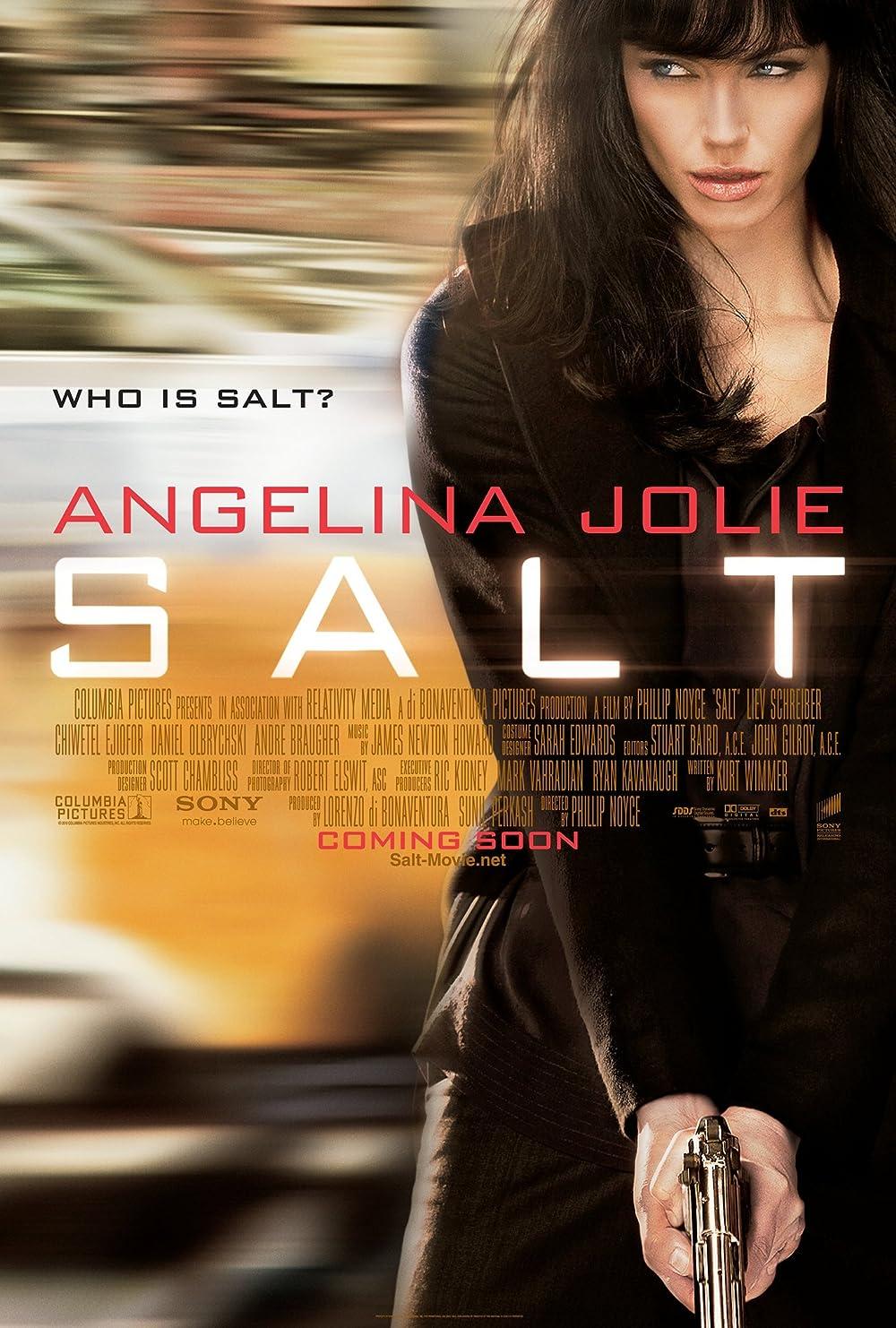 Salt 2010 Hindi Dual Audio 720p BluRay 900MB Download