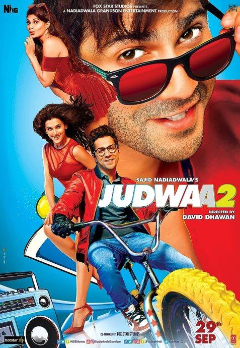 Judwaa 2 (2017) Hindi Movie 720p BluRay ESubs 1.2GB Download