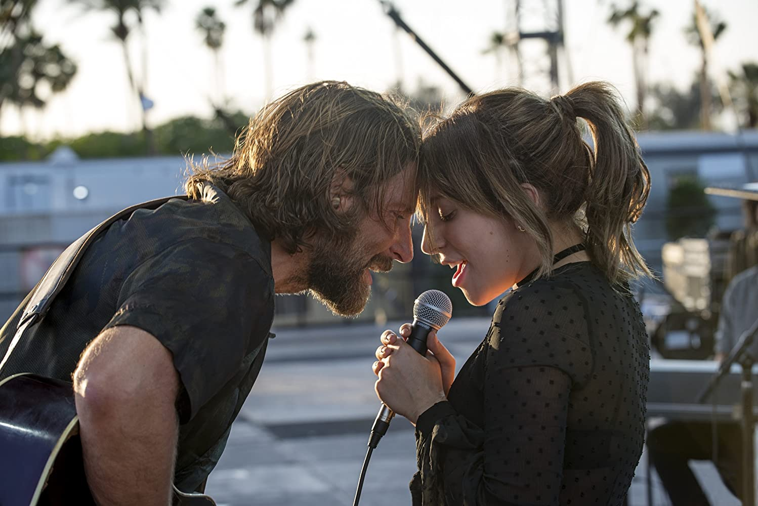 Bradley Cooper and Lady Gaga / A Star is Born / Warner Bros. Entertainment Inc & Metro-Goldwyn-Mayer Pictures. © 2018. All rights reserved.