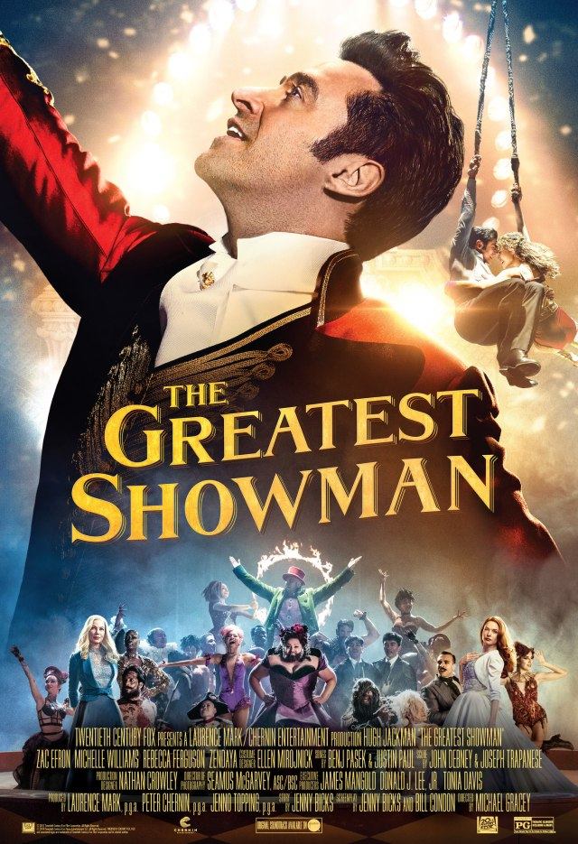 Image result for copyright free greatest showman""