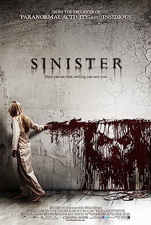 Poster do filme - A Entidade - Corpo Possuído desenhando um monstro na parede com seu sangue