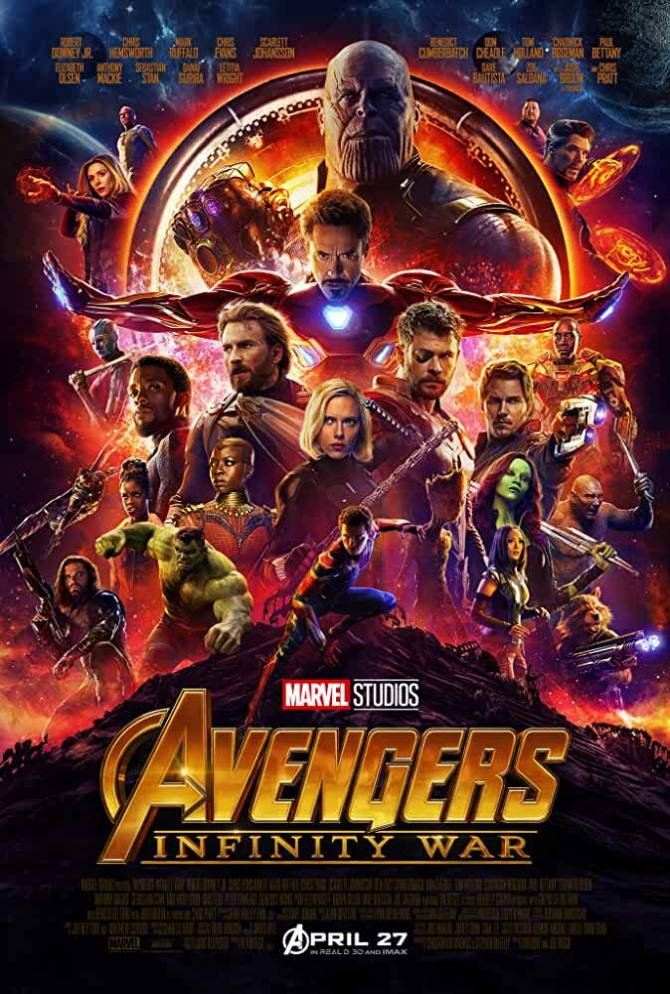 Avengers Infinity War (2018) English Movie 720p Web-DL Download at movies365.trade