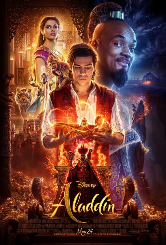 Image result for aladdin movie poster