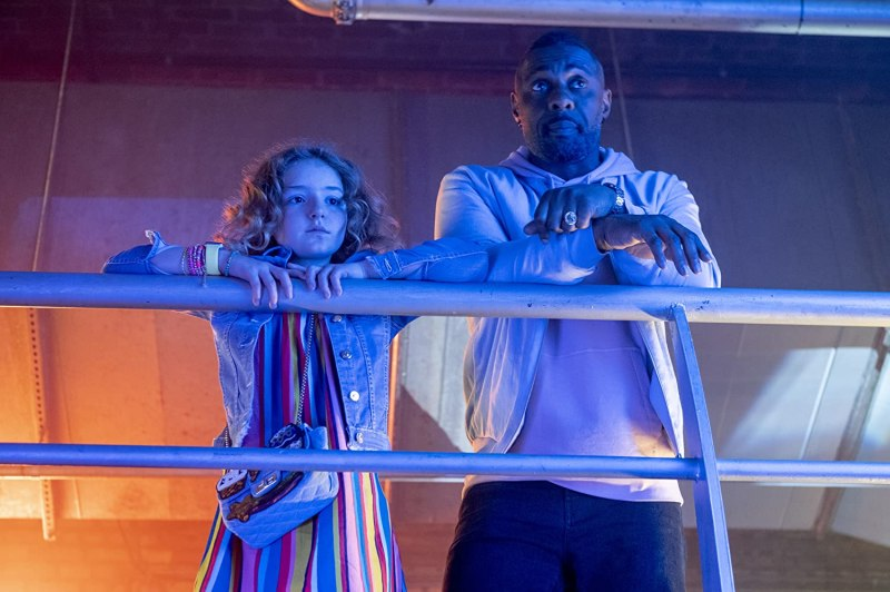 Idris Elba and Frankie Hervey in Turn Up Charlie (2019)