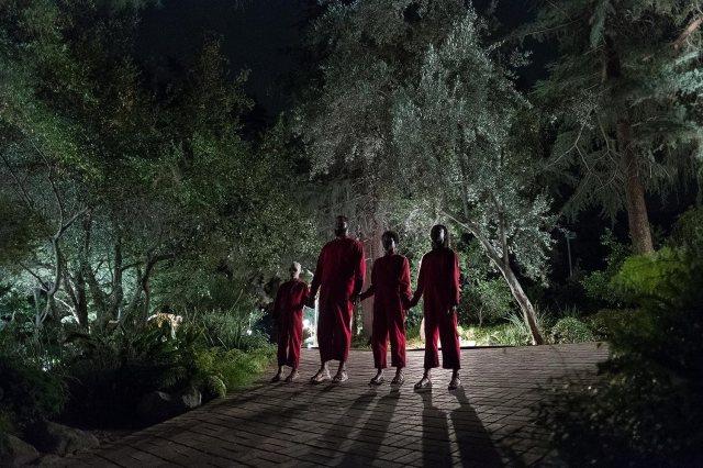 Lupita Nyong'o, Winston Duke, Evan Alex, and Shahadi Wright Joseph in Us (2019)