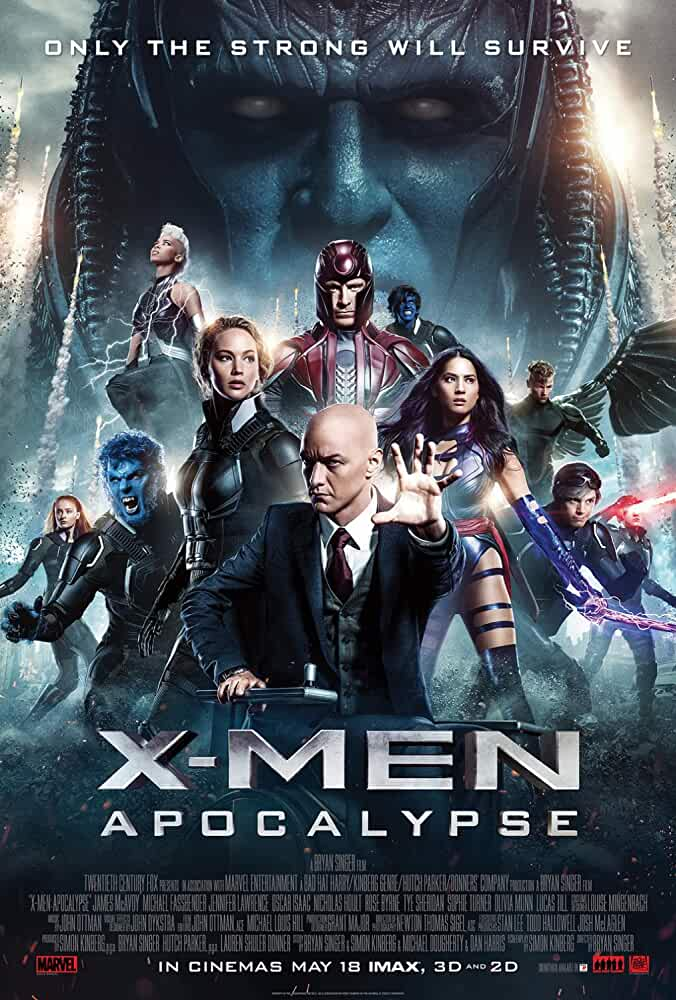 Download X-Men 9: Apocalypse (2016) Full Movie In Hindi-English (Dual Audio) Bluray 480p [450MB] | 720p [1.4GB] | 1080p [3GB]