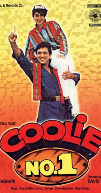 Coolie No. 1 (1995) - best comedy movies Bollywood