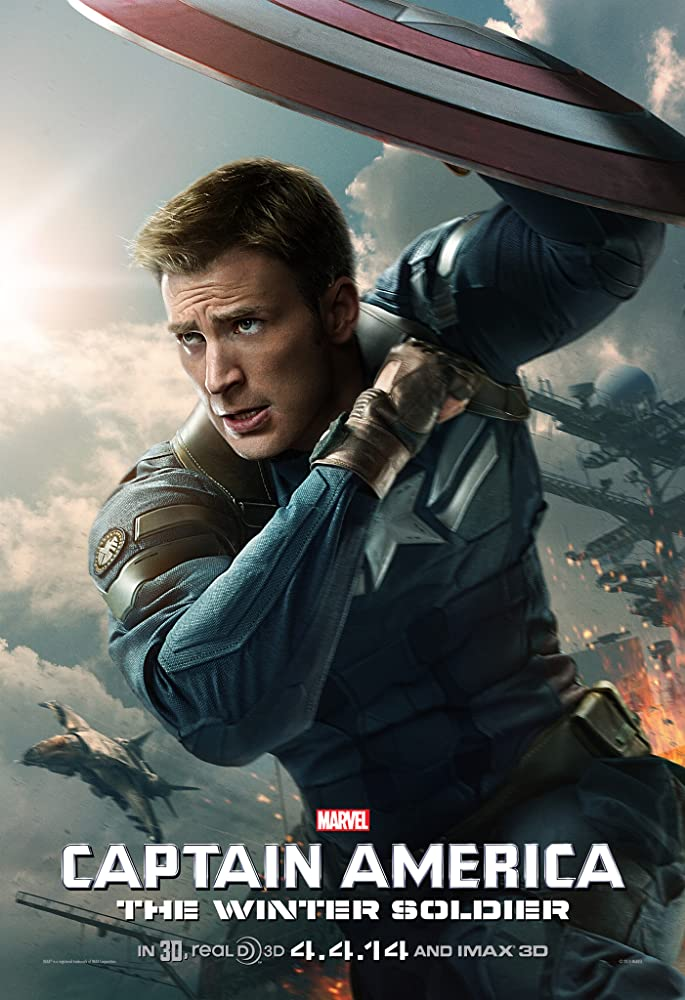 Captain America 2: The Winter Soldier 2014 Movie BluRay Dual Audio Hindi Eng 400mb 480p 1.3GB 720p 4GB 10GB 1080p