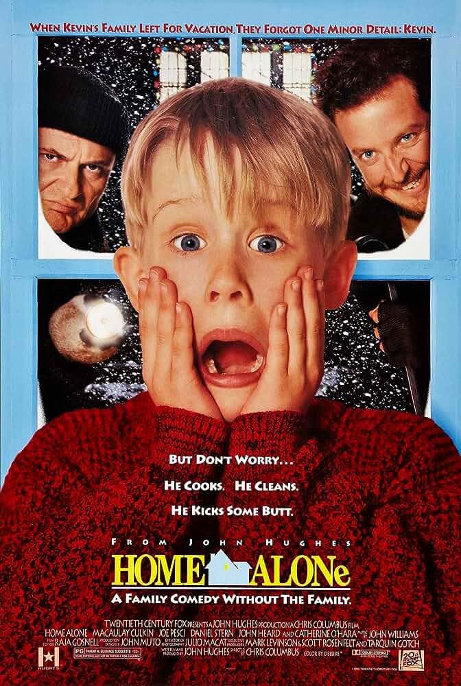 Download Home Alone (1990) BluRay 480p [300MB] | 720p [1.1GB] | Dual Audio {Hindi English}