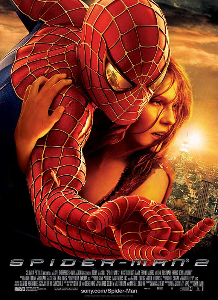 Download Spider-Man 2 (2004) Dual Audio {Hindi-Eng} 480p [400MB] | 720p [1GB]