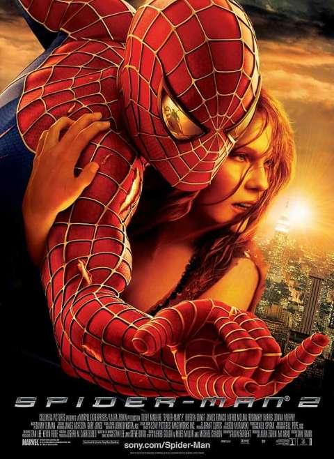 Download Spider-Man 2 (2004) Dual Audio {Hindi-Eng} 480p [400MB] | 720p [1GB]