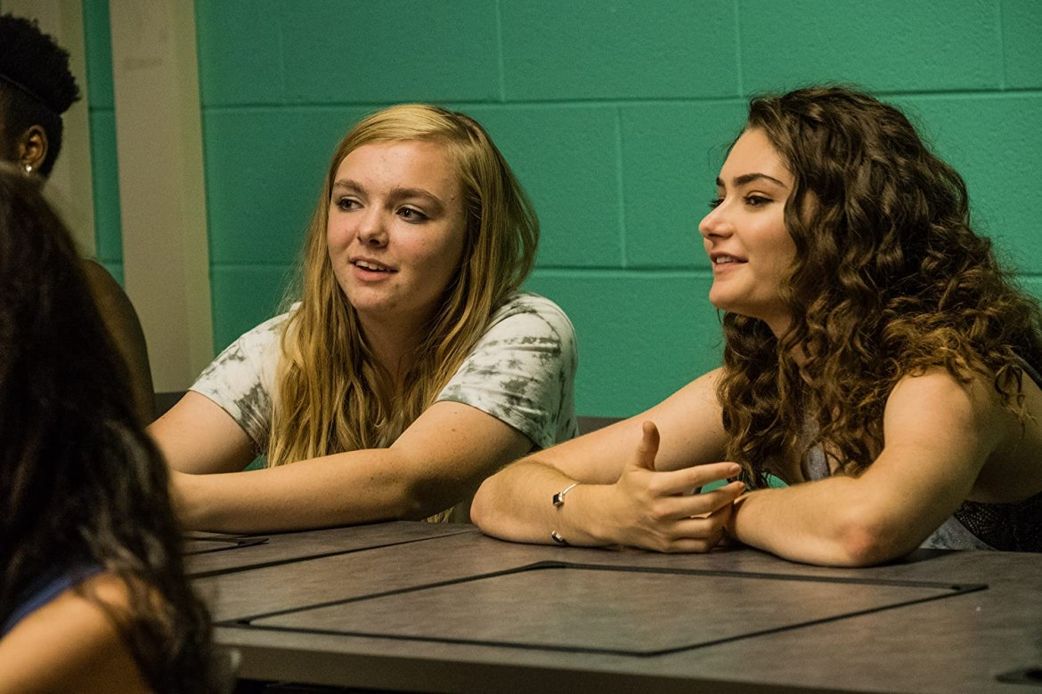 Elsie Fisher and Emily Robinson (Eighth Grade, 2018)